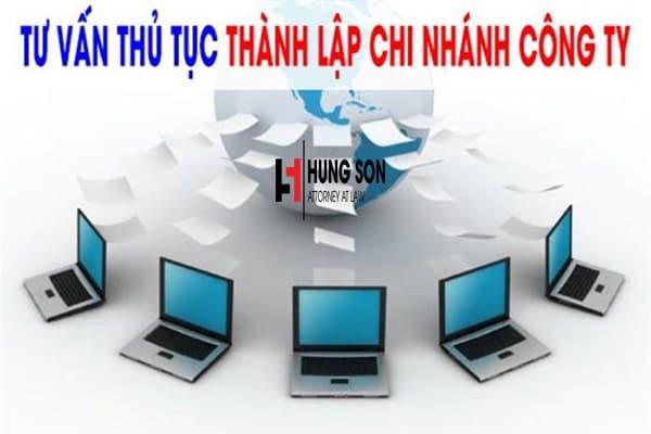 thủ tục mở chi nhánh công ty tnhh